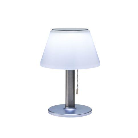 Solarleuchte Tischleuchte, LED, ca. H 28 cm Vorderansicht