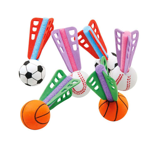 Softball-Dart-Set, 15-tlg., Kunststoff, Kunststoff Vorderansicht