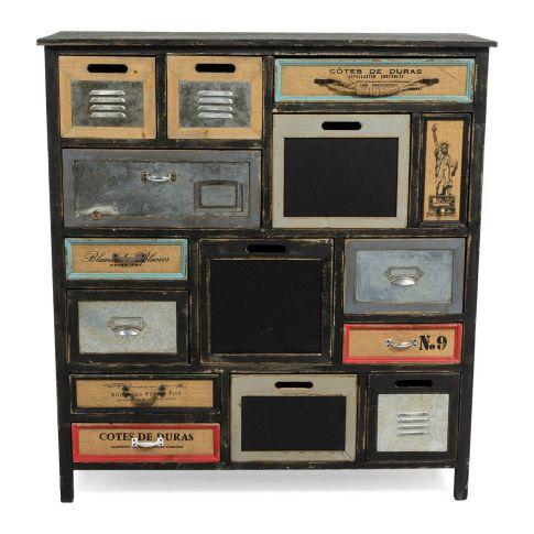 kommode multi used look tannenholz kommoden m bel wohnen. Black Bedroom Furniture Sets. Home Design Ideas