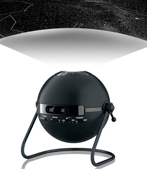 Planetarium Sternentheater, ultrahelle LED Projektion Vorderansicht