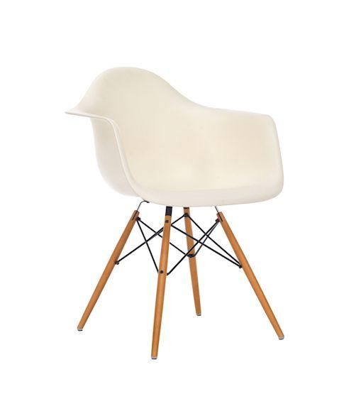 Stuhl Eames Plastic Armchair DAW, Clean chic Vorderansicht