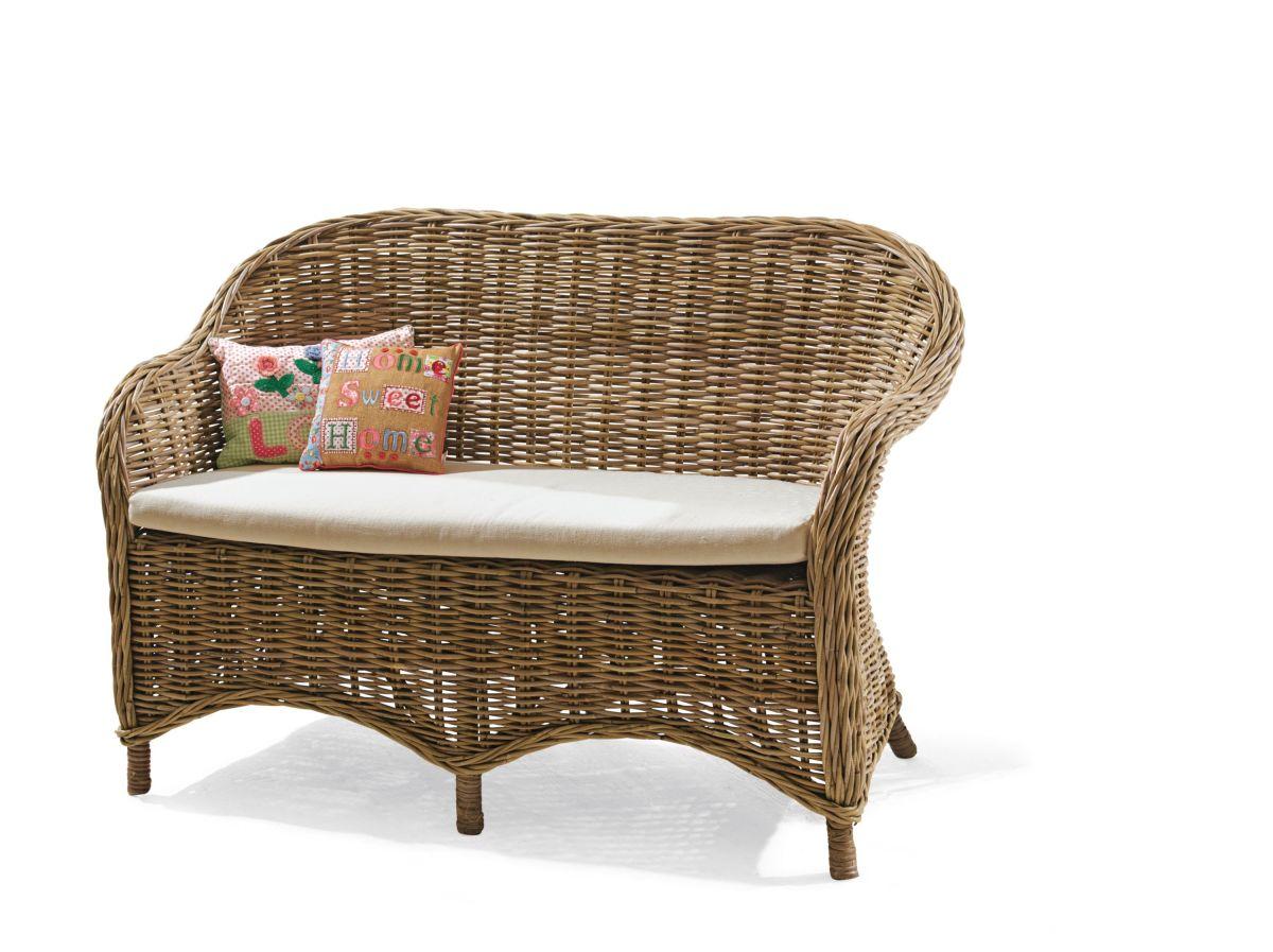 geflecht gartenbank g nstig kaufen. Black Bedroom Furniture Sets. Home Design Ideas