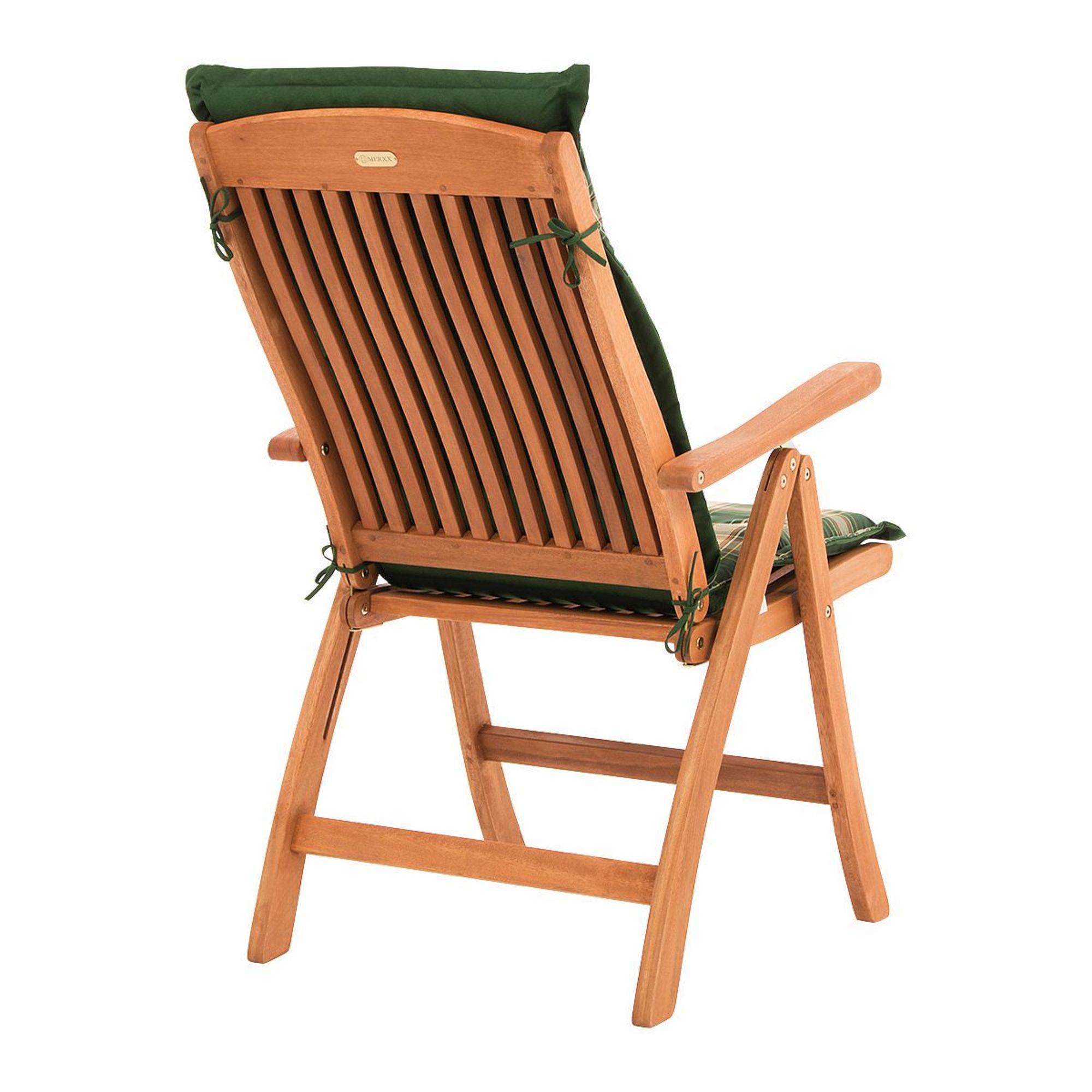 Gartenstühle holz klappbar  Gartenstuhl mit Auflage Abby, klappbar, inkl. Auflagen, Holz