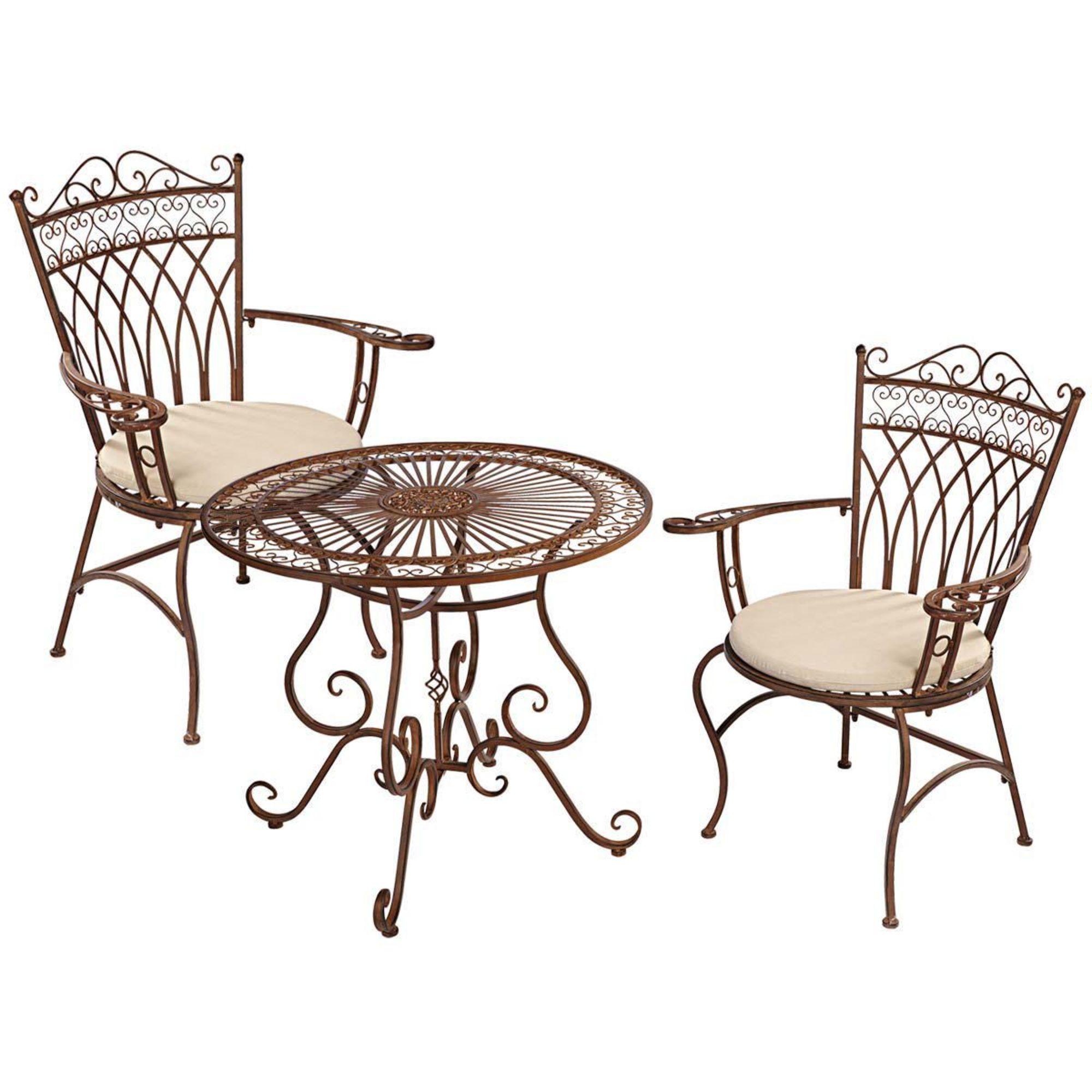 Gartenmöbel-Set, 3-tlg. Versailles