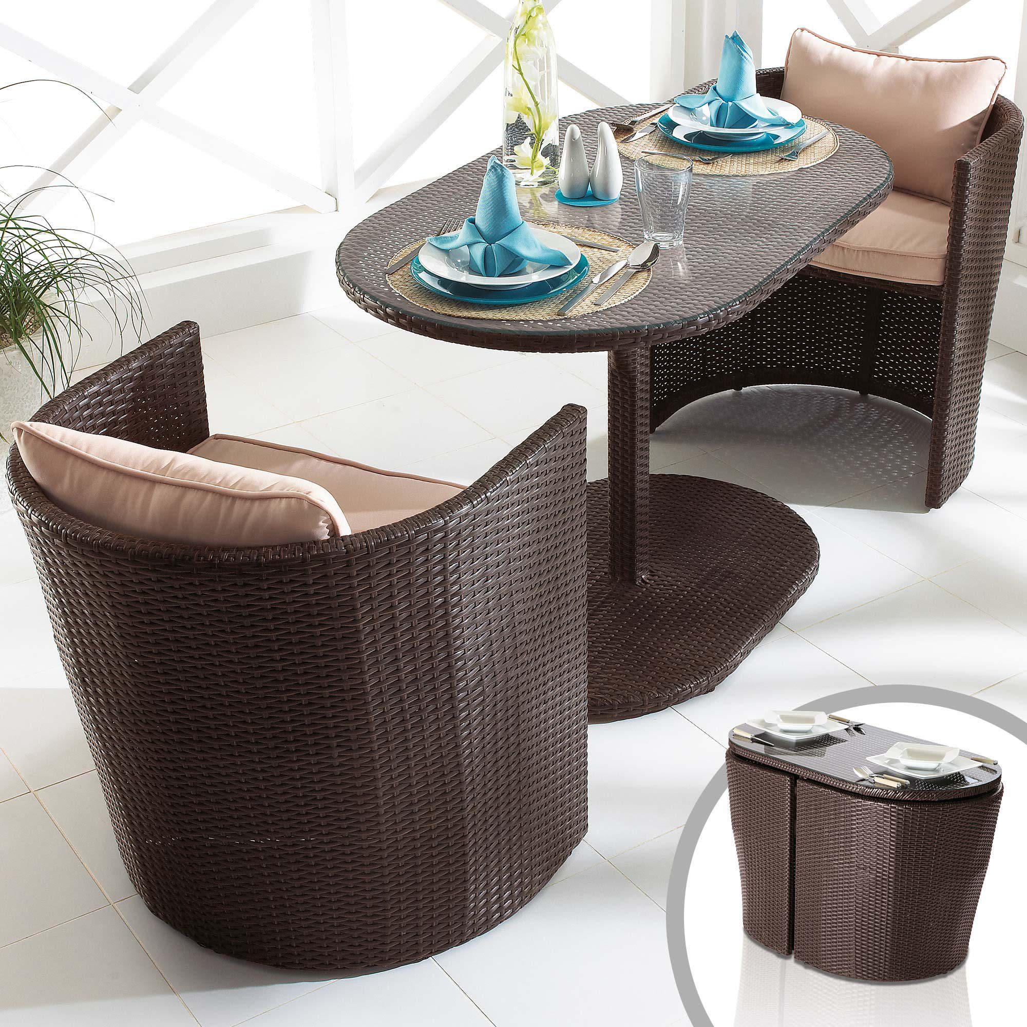 gartenm bel set oval nornabaeli. Black Bedroom Furniture Sets. Home Design Ideas
