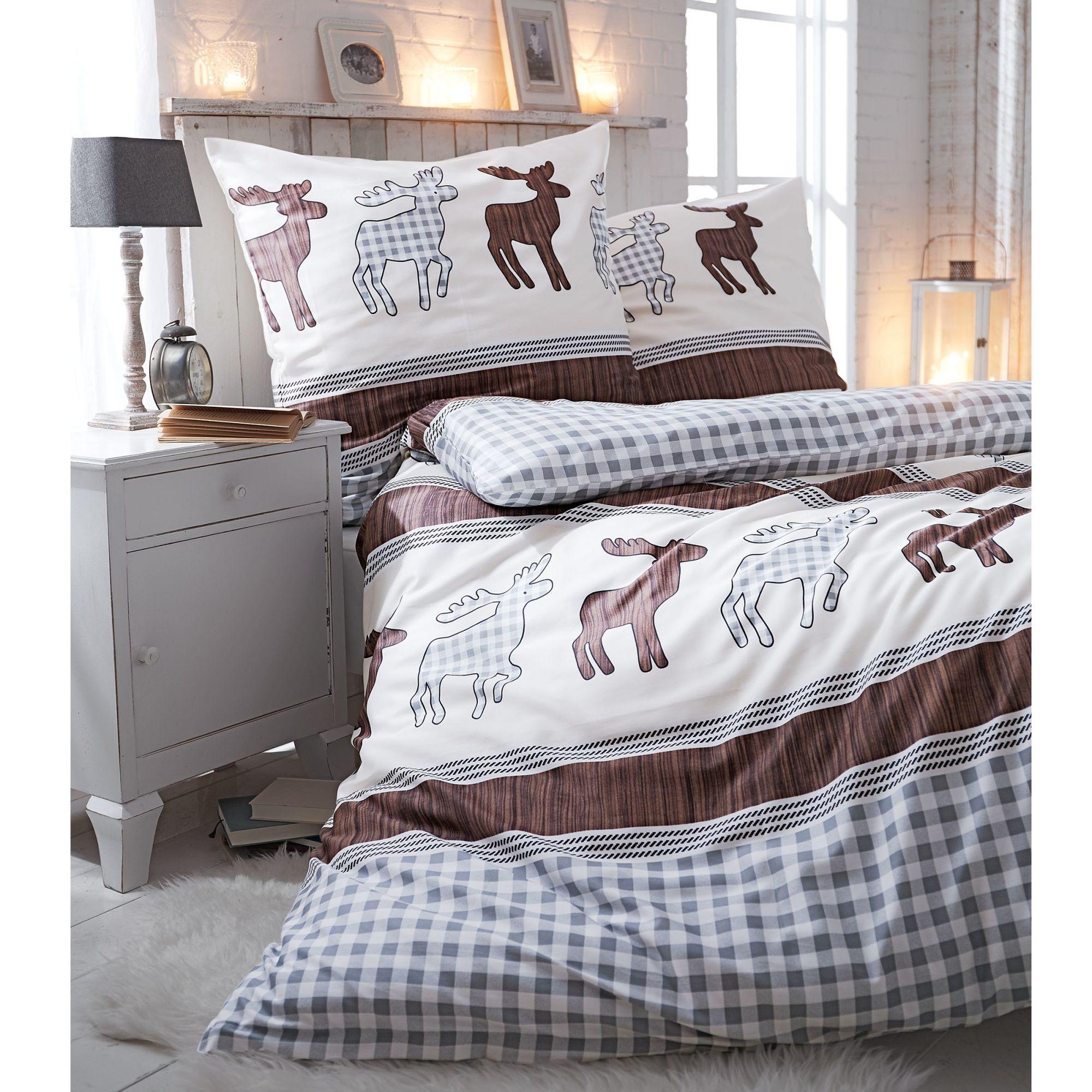 biber bettw sche mit elchmotiv my blog. Black Bedroom Furniture Sets. Home Design Ideas