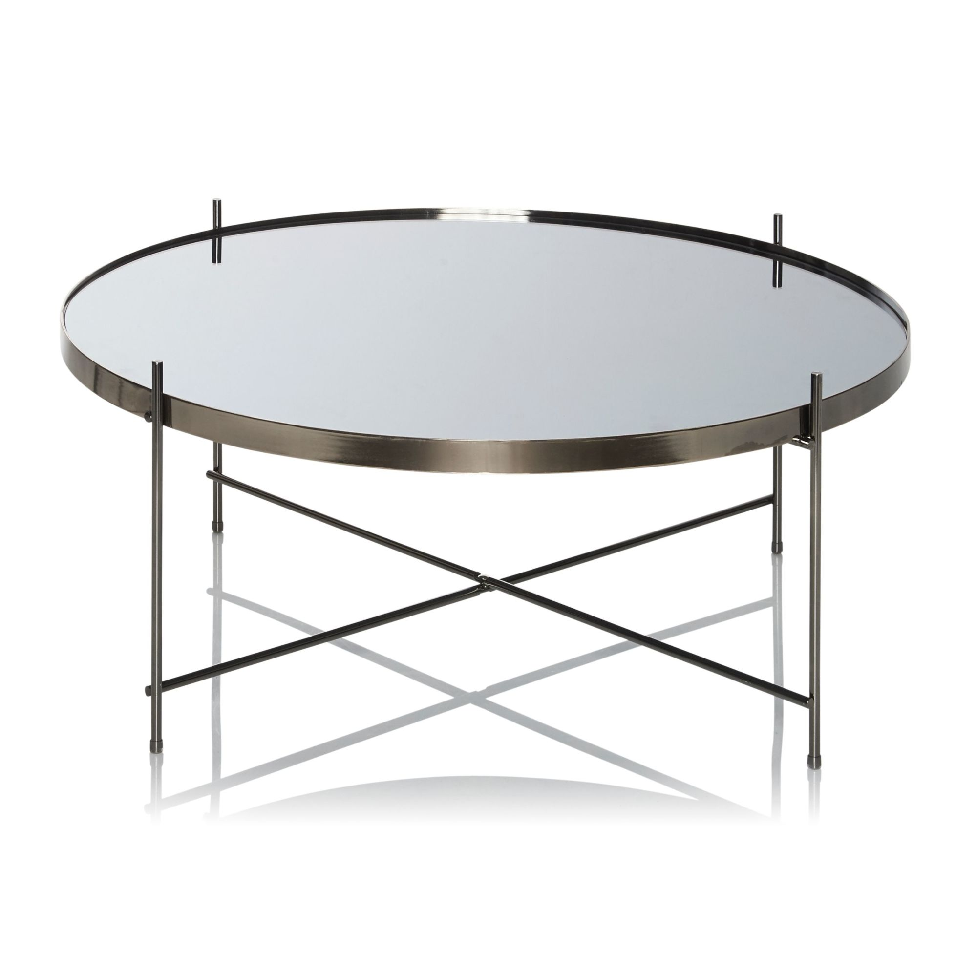 design tisch glas rund. Black Bedroom Furniture Sets. Home Design Ideas