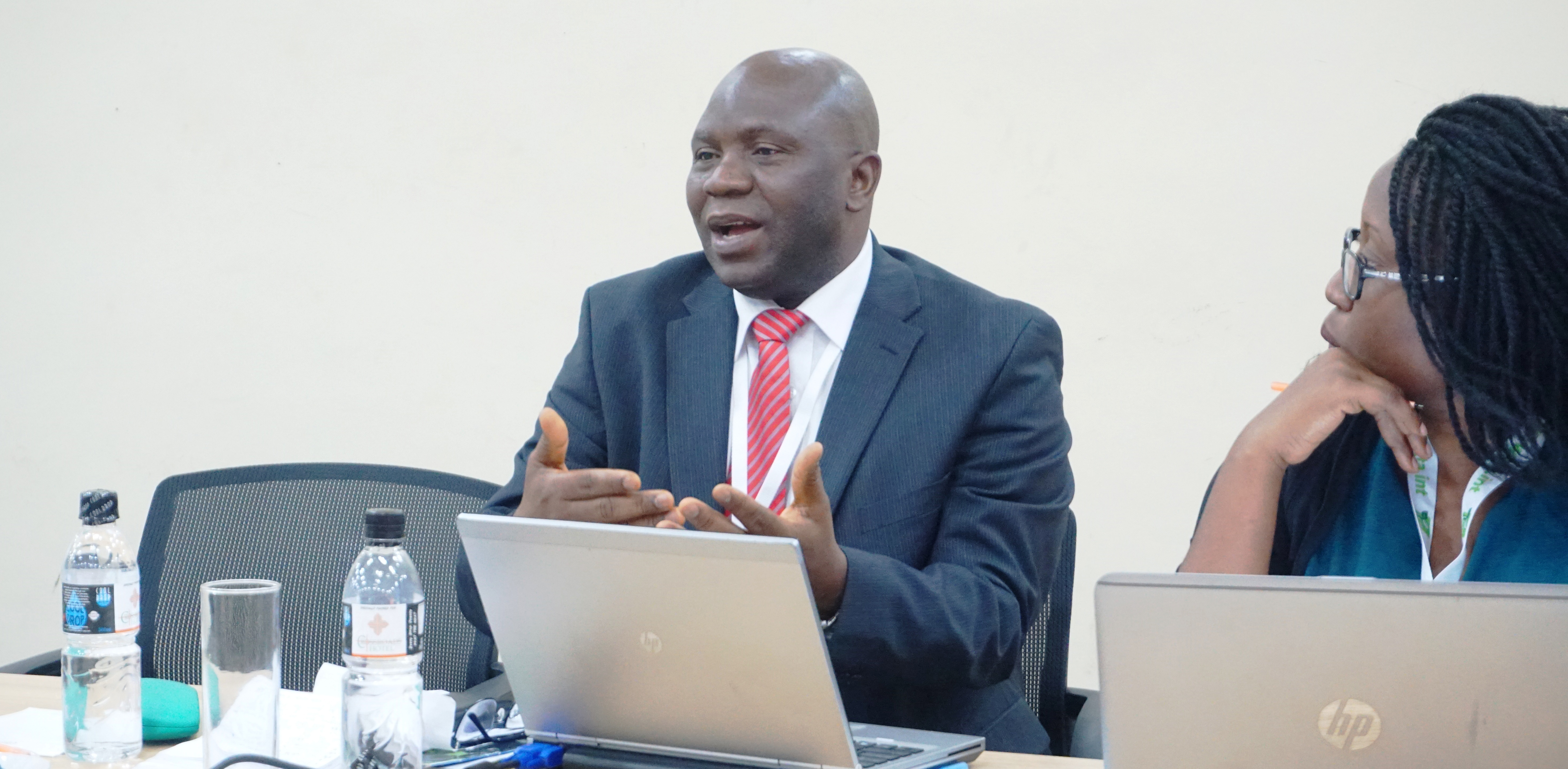 Olu Ajayi, CTA Senior Programmes Coordinator and Programme Lead, discusses implementing climate-smart solutions for farmers in Southern Africa