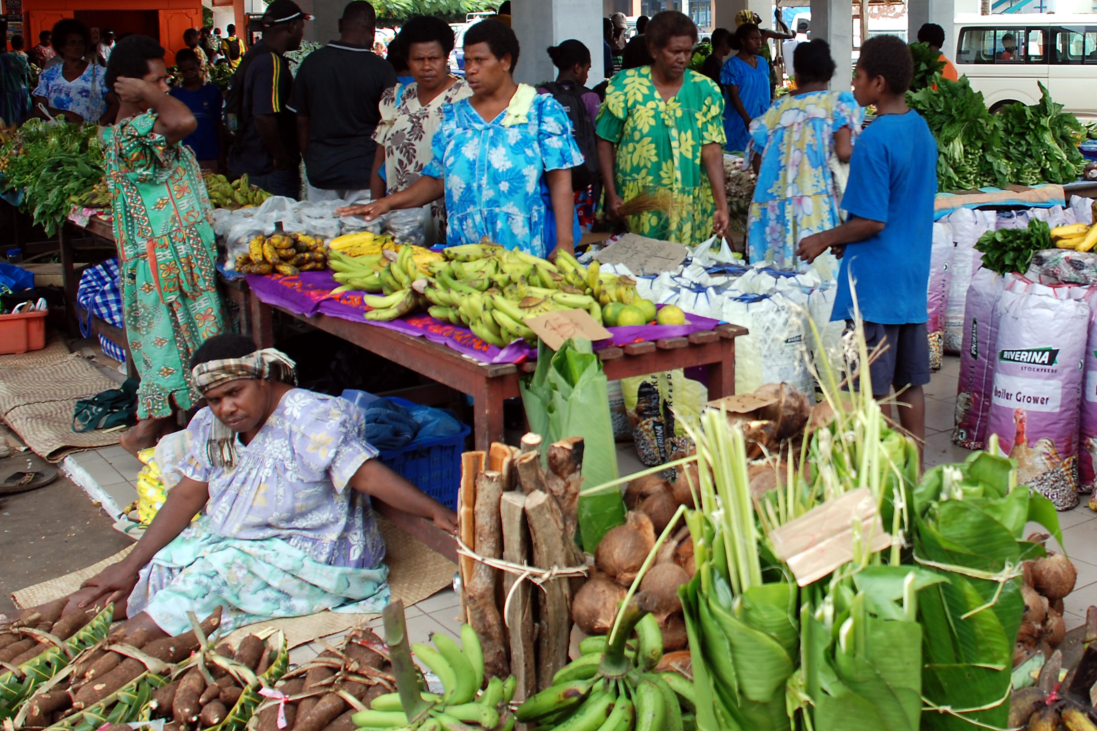 Port Vila Central market