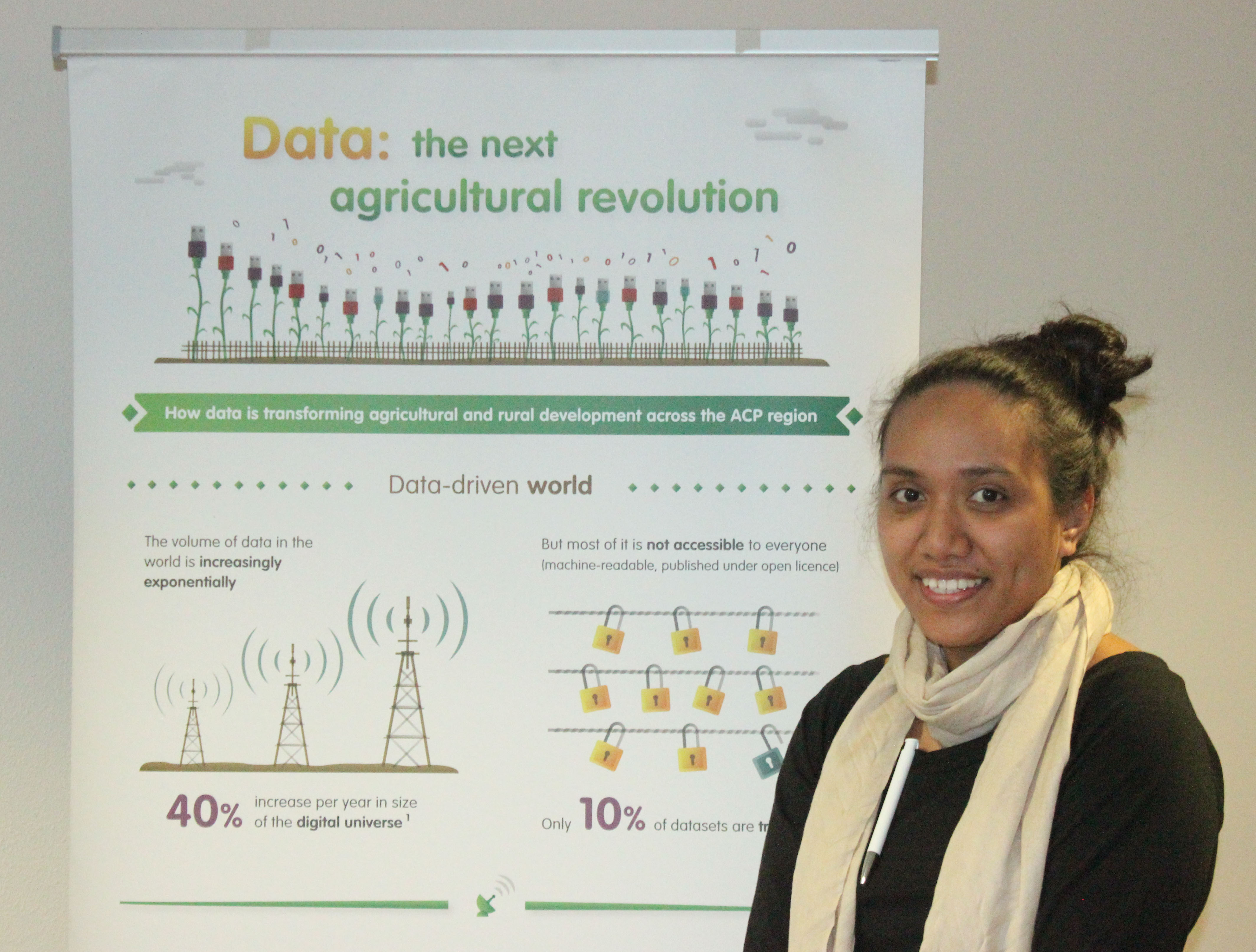 The value of data in connecting farmers to the marketplace in Samoa