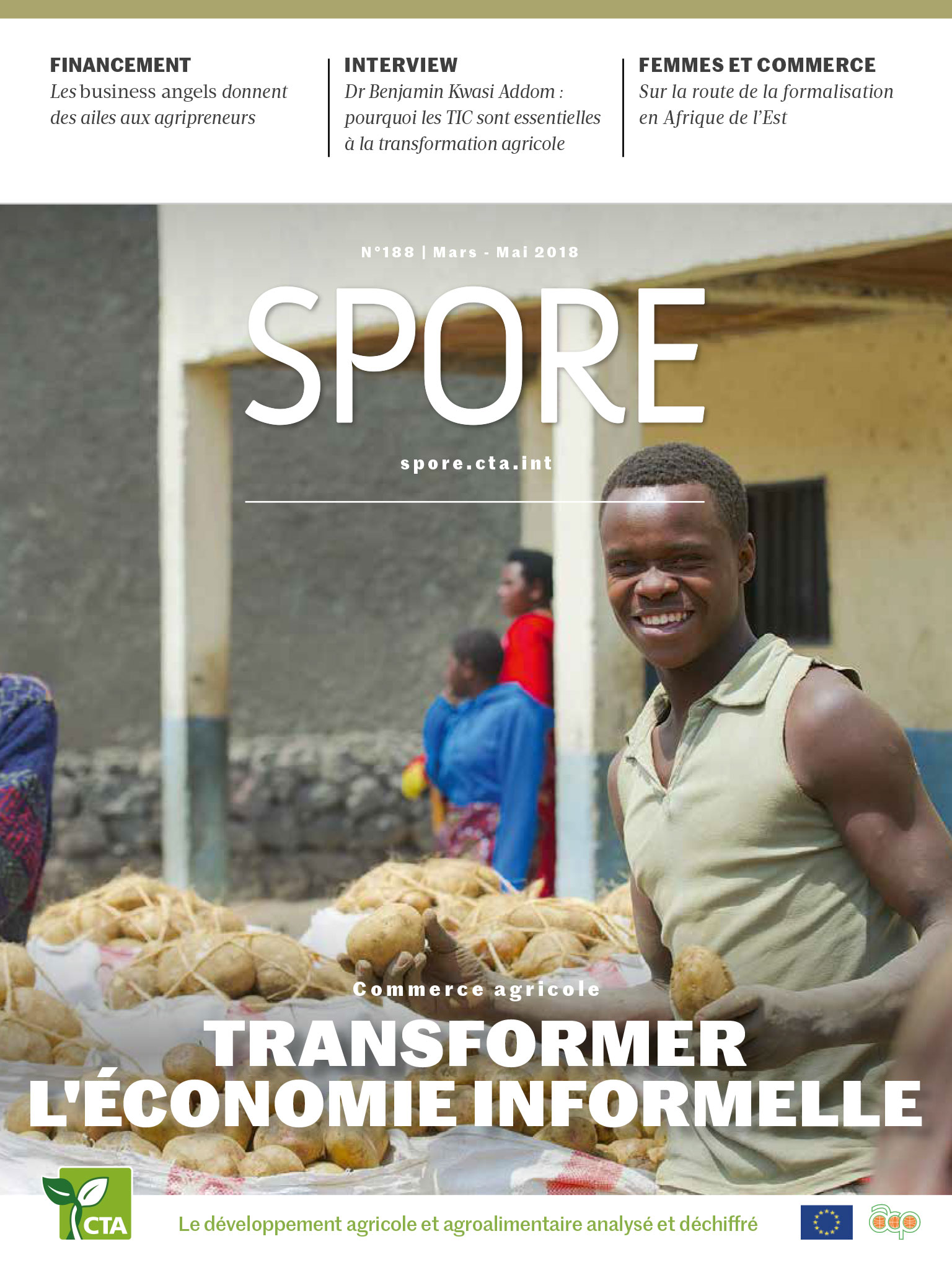 Spore Magazine 188: Agricultural Trade - Transforming the Informal Economy