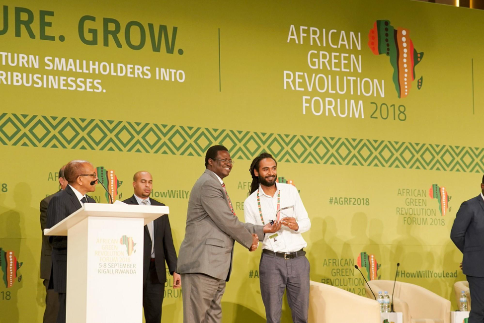 Farm Credibly, a Jamaican start-up among the 2018 Pitch AgriHack winners