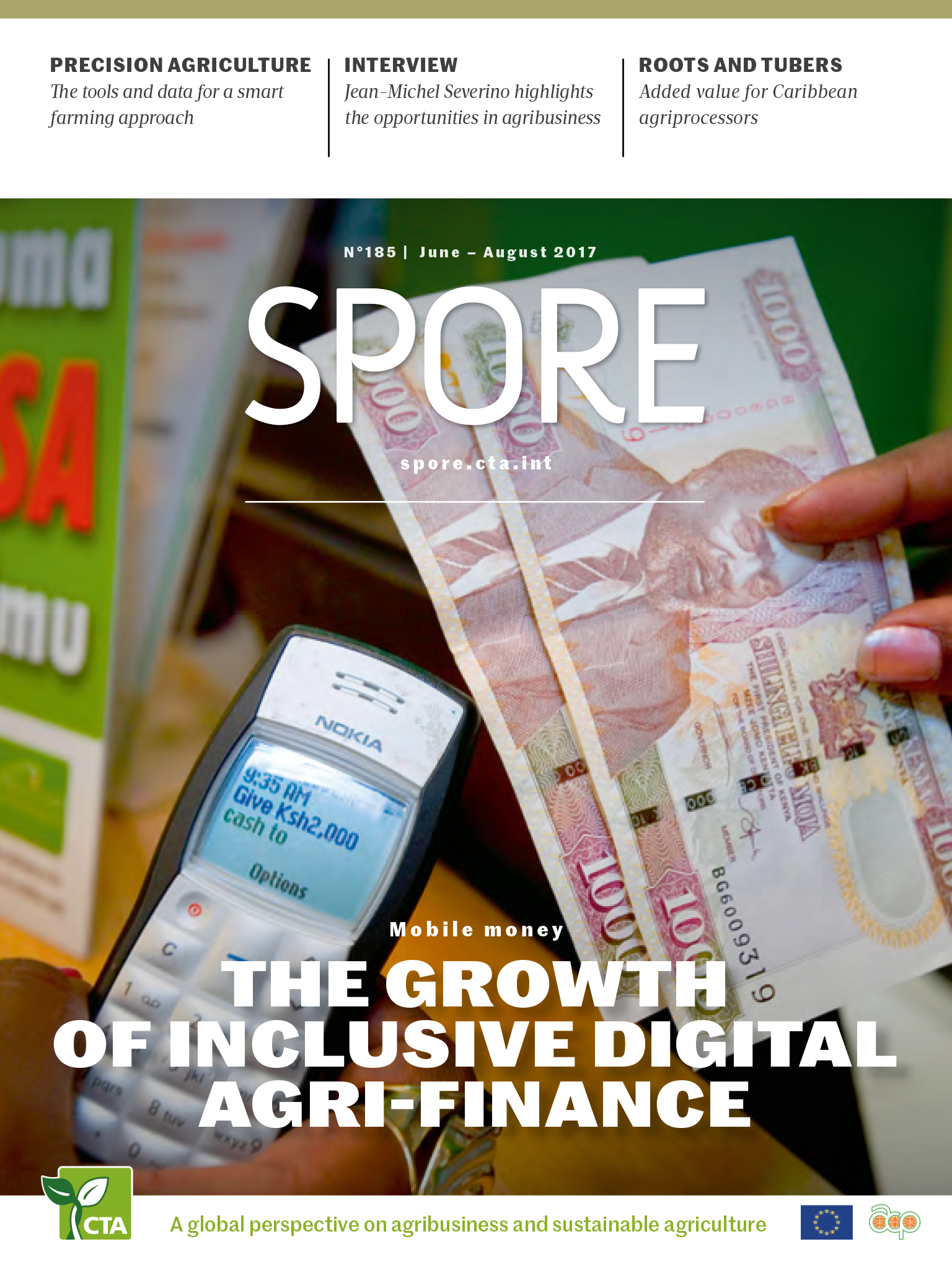 Mobile money; The growth of inclusive digital agri-finance