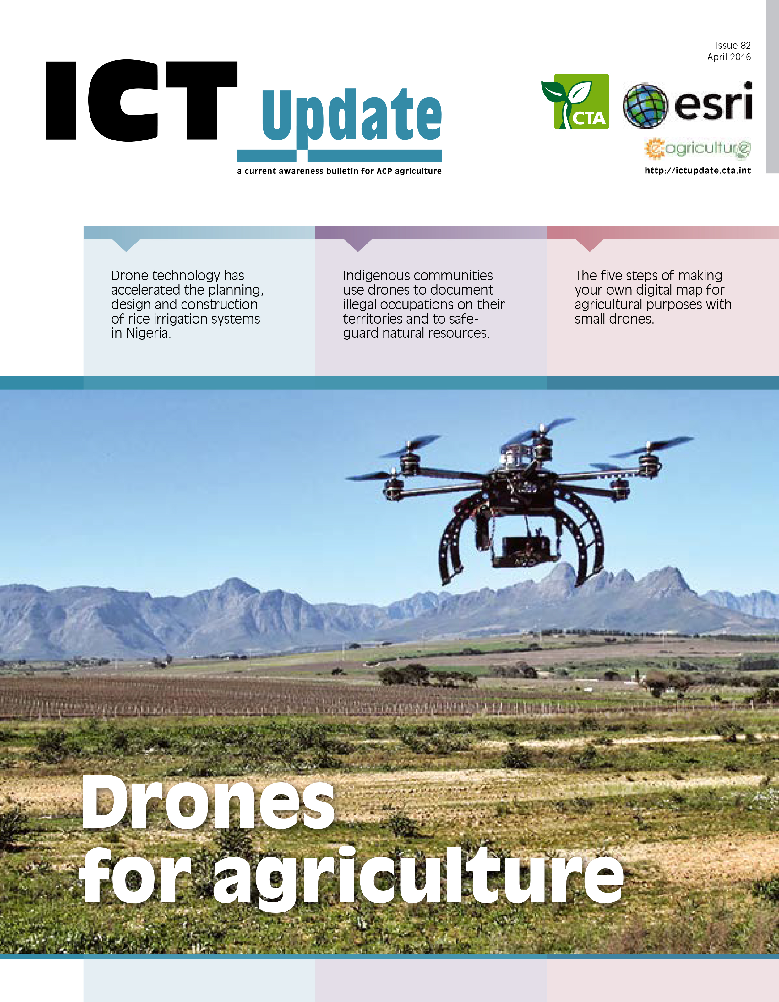 ICTUpdate Issue 82: Drones for Agriculture