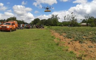Multirotor-based remote sensing system over farmers fields in Tanzania