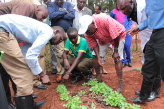 iAgribiz trainees are taught how to form cooperatives and produce high-value crops