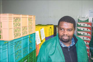 Alex Muli, the proprietor of Goshen Farm, which sources produce from 4,235 farmers in Ukambani, some of which he sells in the local market and exports the bulk to the Middle East.