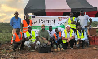 Several other African entrepreneurs have attended an initiation on unmanned aerial vehicles (UAV), organised by CTA, in partnership with Parrot