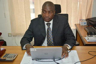 Alex Ariho is coordinator of the Universities, Business and Research in Agricultural Innovation (UniBRAIN) facility