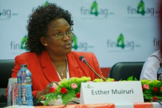 Esther Muiruri is general manager of agribusiness for Equity Bank in Kenya.
