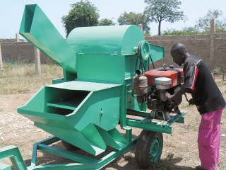 The Baguinéda agricultural training centre provides trainees with agricultural equipment