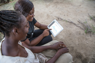 Farmers are increasingly able to access a wealth of data, making it easier for them to produce, transport and sell food