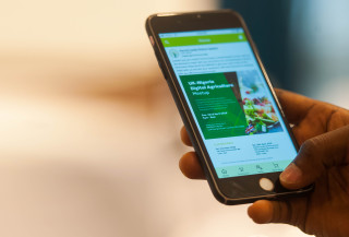 In Nigeria, a mobile app developed by agri-tech company Farmcrowdy is helping to link rural smallholders with inner-city agricultural investors