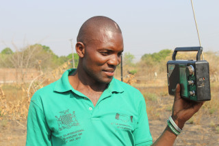 Farmers in Zambia are being sent weather forecasts via the radio and their mobile phones