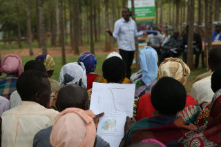 Extension workers have reached 75,000 Rwandan farmers with training in the use of climate information services