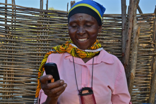 Extension services via SMS provide farmers with fast, location- and farmer-specific information across a range of agricultural activities