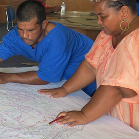 Topographic relief model captures the past and present to help plan the future of Nauru