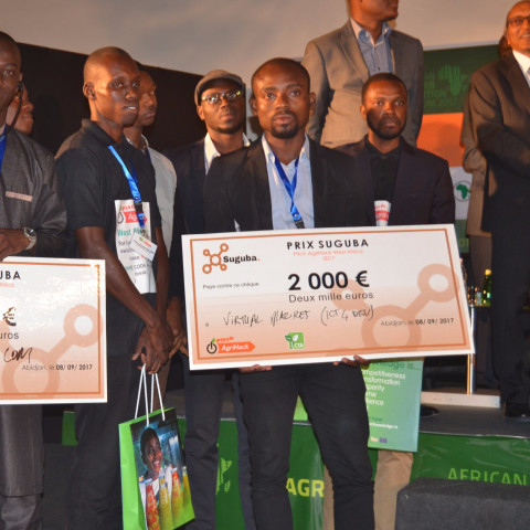 Pitch Agrihack West Africa 2017 winners