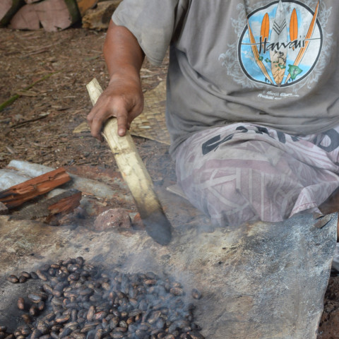 Roasting cocoa / 2nd Pacific Agribusiness Forum - Day 1