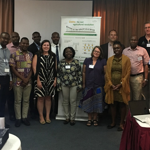 Participants one-day workshop on 'Open Data in Agriculture and Nutrition' in Accra, July 2017