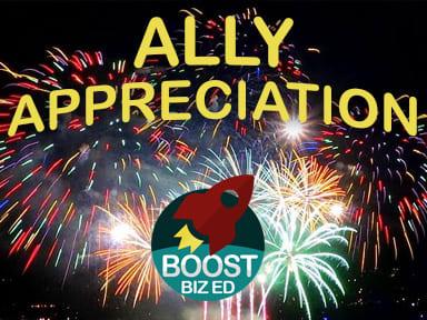 Ally Appreciation Happy Hour