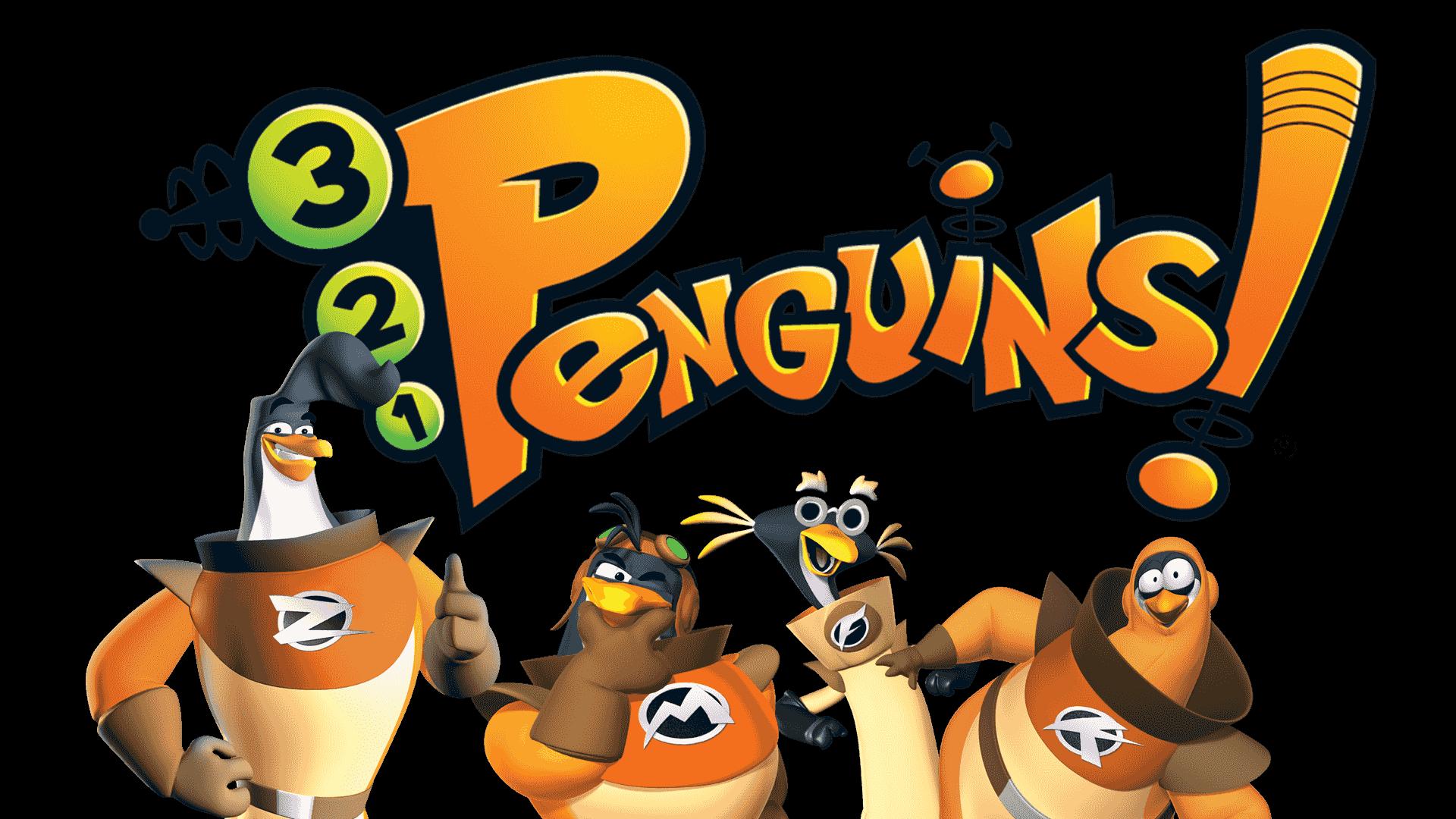 321 penguins logo