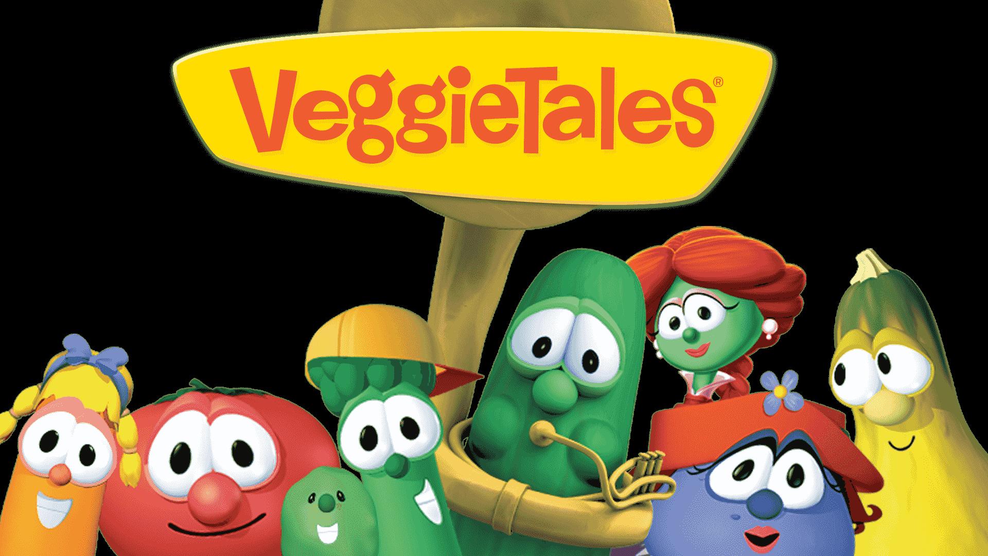 Veggietales show logo transparent