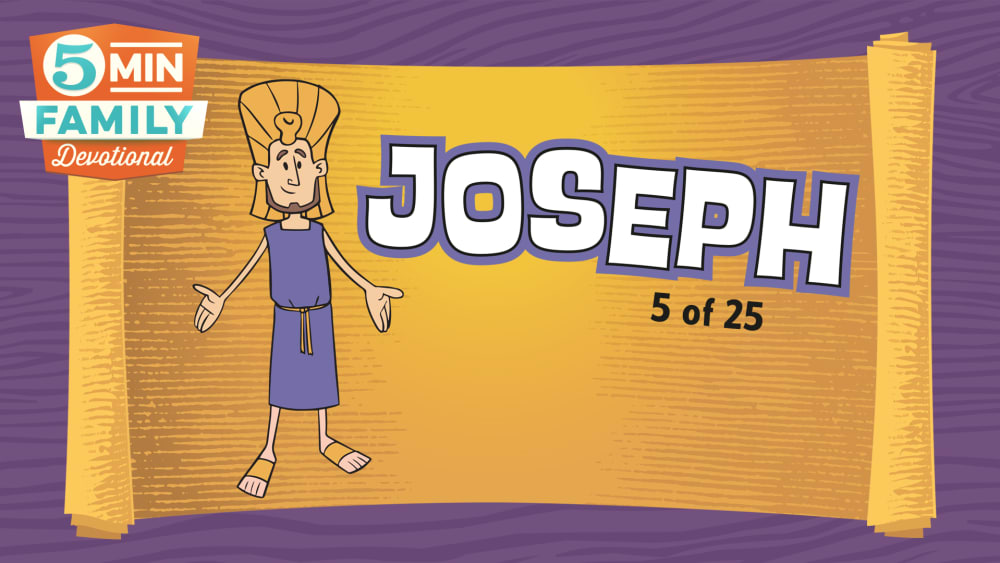 Joseph god was with joseph