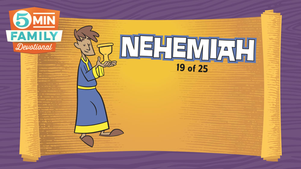 Nehemiah god gave his people strength