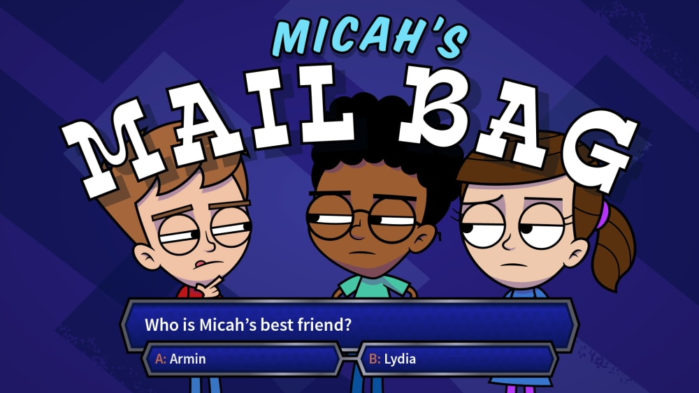 Mailbag 2: Who's Micah's Best Friend?