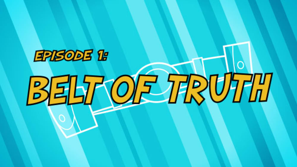 01 belt of truth title card
