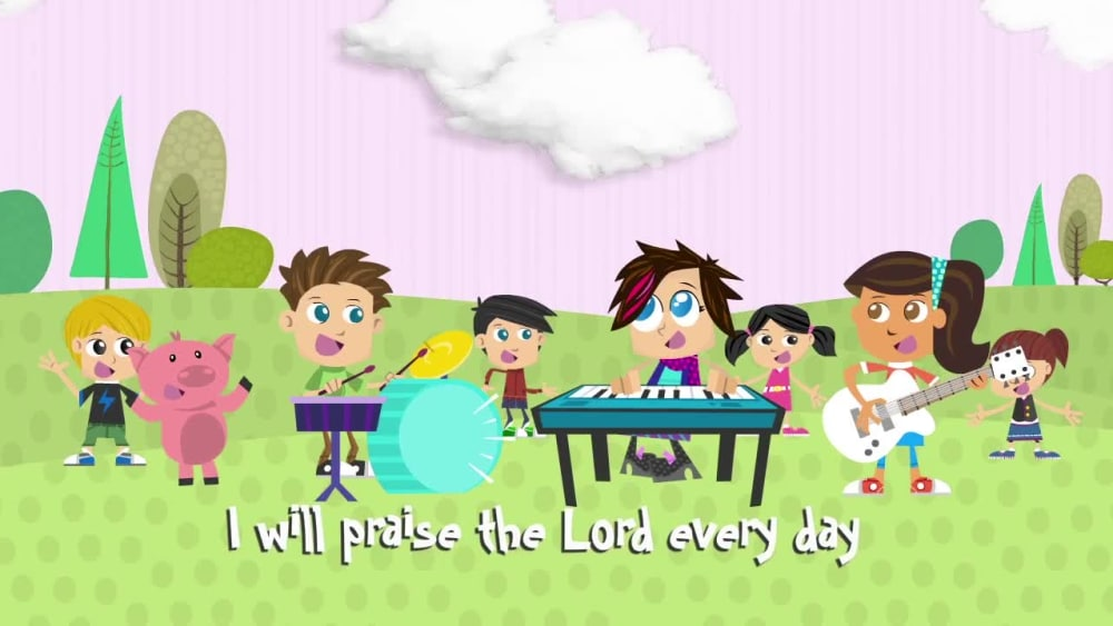 Praise the Lord Every Day (Animated)