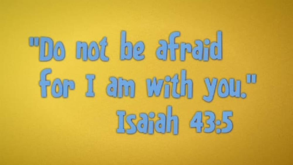 Isaiah 435 with sunday school lady