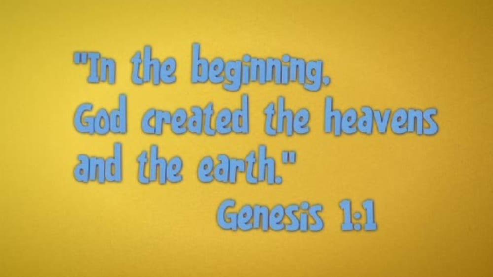 Genesis 1:1 with Sunday School Lady
