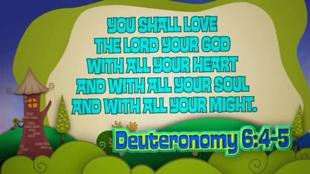 Deuteronomy 6:4-5 (Hills)