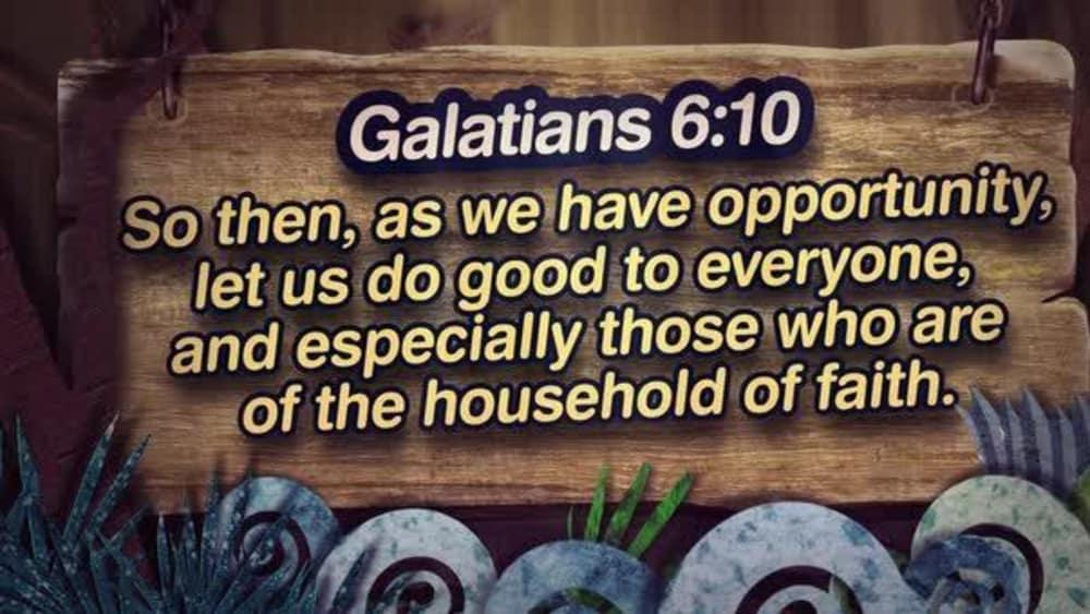 Galatians 6:10 (Nature)