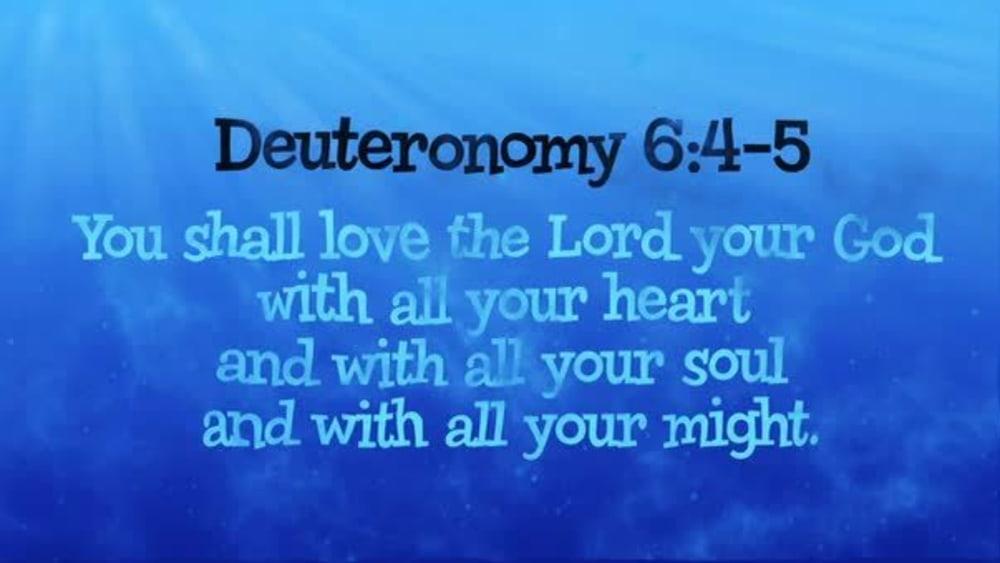 Deuteronomy 6:4-5 (Ocean)