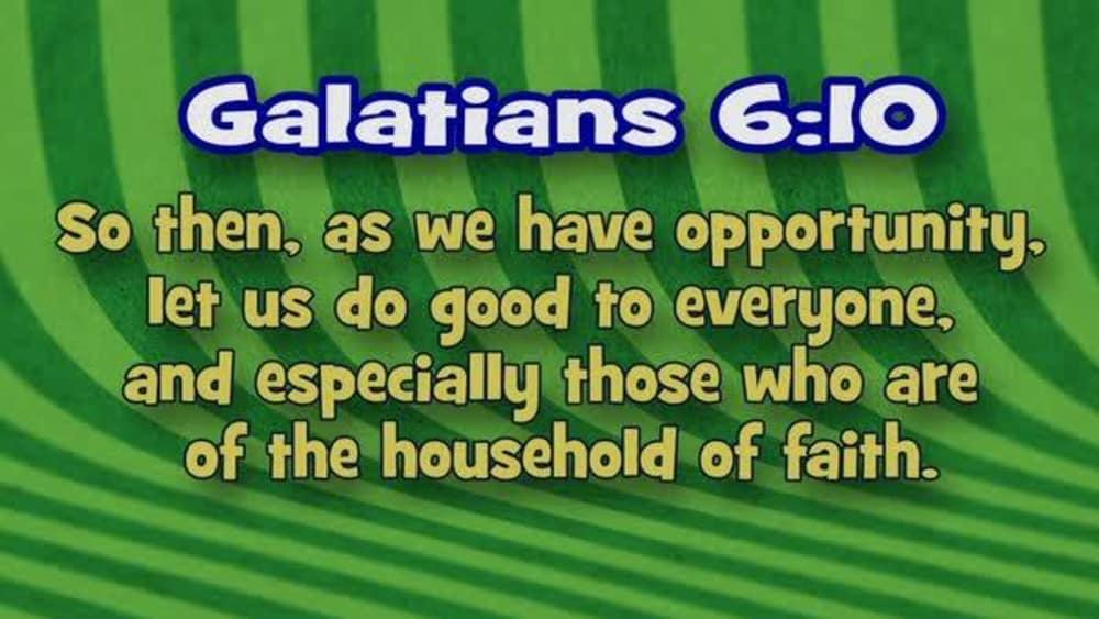 Galatians 6:10 (Stripes)