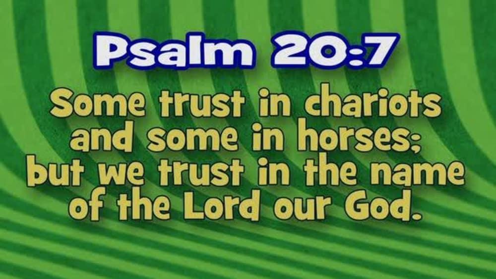 Psalm 20:7 (Stripes)