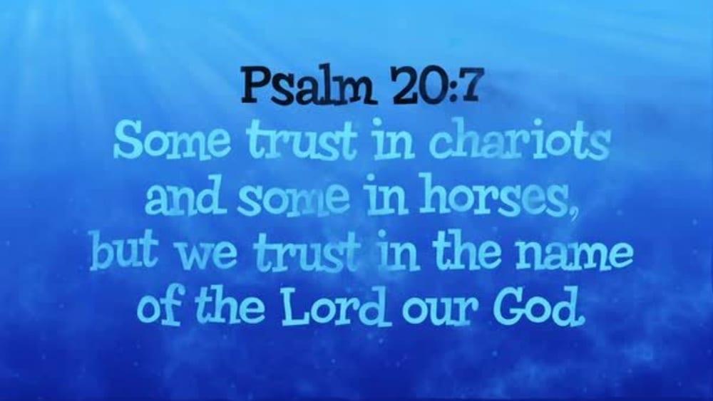 Psalm 20:7 (Ocean)